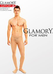 Glamory Mens Support 40 Tights Zoom 2