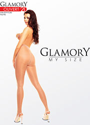 Glamory Ouvert 20 Denier Crotchless Tights
