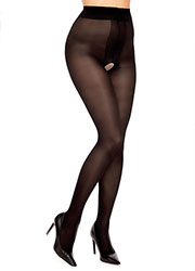 Glamory Ouvert 40 Crotchless Tights Zoom 2
