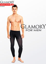 Glamory Thermoman 100 Denier Footless Tights Zoom 3