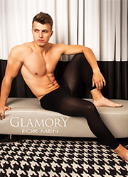 Glamory Thermoman 100 Denier Footless Tights Zoom 1