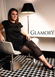 Glamory Velvet 80 Denier Footless Tights Zoom 1