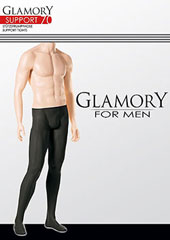 Glamory Mens Support 70 Tights
