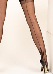 Gio Fully Fashioned Memphis Heel Stockings Zoom 2