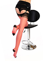 Gio Imperfect RHT Full Contrast Stockings Zoom 2