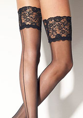 Girardi Marlene Rigo Lace Top Hold Ups Zoom 2
