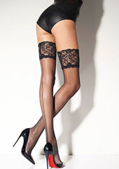 Girardi Marlene Rigo Lace Top Hold Ups