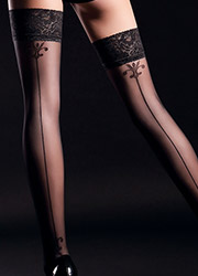 Giulia Allure Backseam Lace Top Hold Ups N.4 Zoom 2