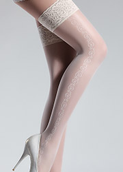 Giulia Allure Trellis Side Seam Hold Ups N.5 Zoom 2