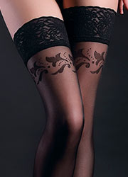 Giulia Allure Floral Top Hold Ups N.12 Zoom 2