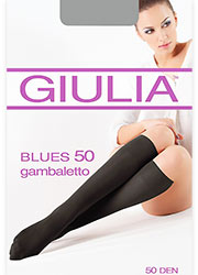 Giulia Blues 50 Knee Highs