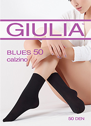 Giulia Blues 50 Ankle Socks