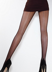 Giulia Chic 20 Seamed Tights Zoom 2
