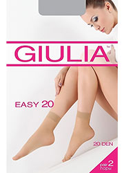Giulia Easy 20 Ankle Highs 2PP