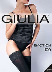 Giulia Emotion 100 Denier Hold Ups