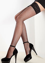 Giulia Emotion Rete Fishnet Hold Ups Zoom 2