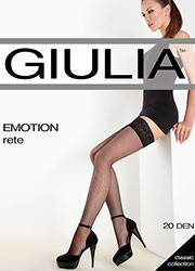 Giulia Emotion Rete Fishnet Hold Ups