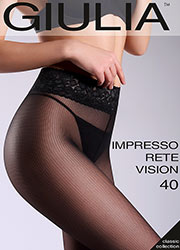 Giulia Impresso Rete Vision 40 Fashion Tights