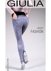 Giulia Leggy Fashion Suede Feel Pants N.1