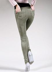 Giulia Leggy Fashion Suede Feel Pants N.1 Zoom 3