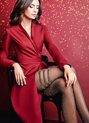 Giulia Lima Lurex Fashion Tights N.2