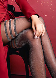 Giulia Lima Lurex Fashion Tights N.2 Zoom 2