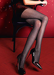 Giulia Lurex Rete Fashion Tights N.1 Zoom 2