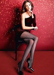 Giulia Lurex Rete Fashion Tights N.1 Zoom 3