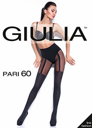 Giulia Pari 60 Mock Suspender Tights