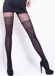 Giulia Pari Mock Hold Up Tights Zoom 3