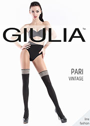 Giulia Pari Vintage 60 Mock Hold Up Tights Zoom 1