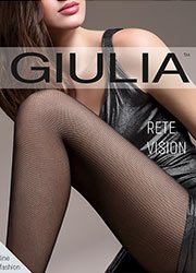 Giulia Rete Vision Mock Fishnet Tights  Zoom 1