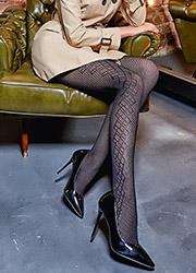 Giulia Saty Rete 100 Fashion Tights N.7 Zoom 1