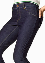 Hue Essential Denim Leggings Zoom 2