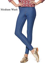Hue Essential Denim Leggings Zoom 4