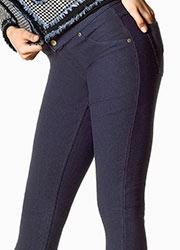 ff8e366f9b1ed6 Hue Fleece Lined Denim Leggings In Stock At UK Tights