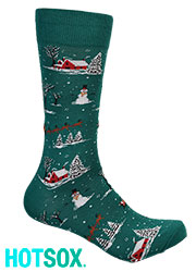 Hotsox Mens Christmas Time Socks