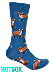Hotsox Mens Foxes Socks