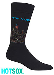 Hotsox Mens New York Socks