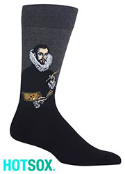 Hotsox Artist Series Mens El Greco Portrait Of The Artists Son Socks