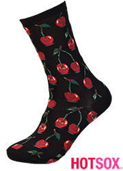 Hotsox Womens Hot Cherry Socks