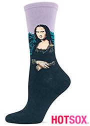 Hotsox Artist Series Womens Mona Lisa Socks