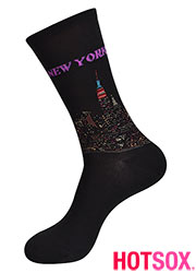 Hotsox Womens New York Socks