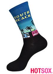 Hotsox Womens South Beach Socks Zoom 2