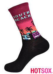 Hotsox Womens South Beach Socks
