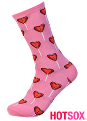 Hotsox Womens Valentine Heart Socks