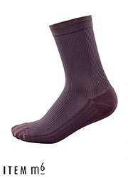 ITEM m6 Men Fine Ribbed Socks Zoom 3