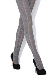 Jonathan Aston Cable Knit Stripe Tights Zoom 3