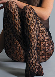 Jonathan Aston Crochet Net Tights Zoom 2