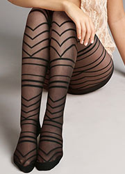 Jonathan Aston Graphic Chevron Tights Zoom 2
